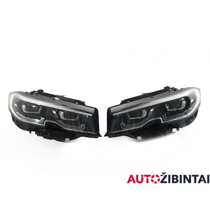 BMW 3 (G20) Priekinių žibintų komplektas (9481701-08)
