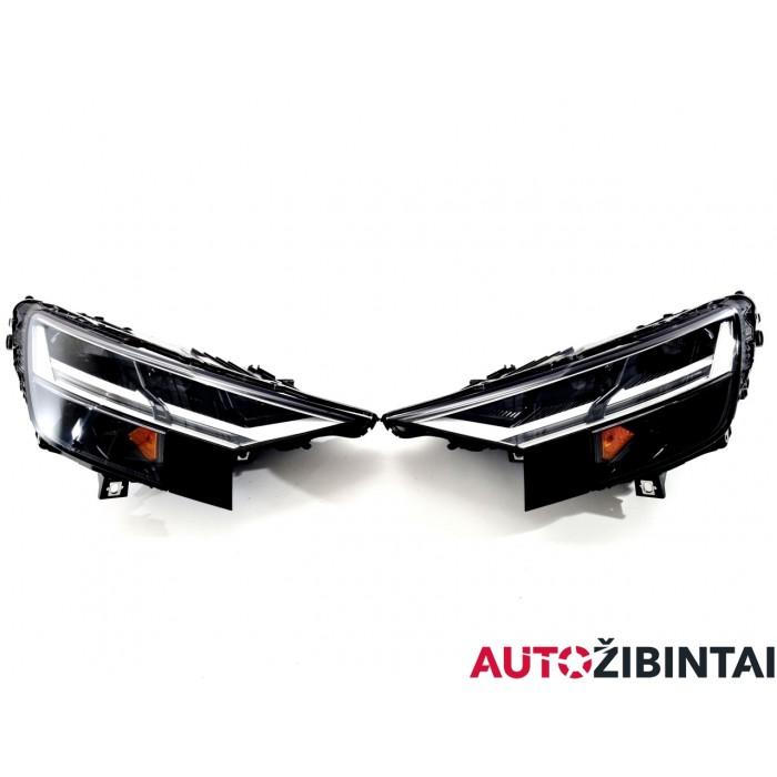 AUDI Q8 (4MN) Priekinių žibintų komplektas (4M8941034B)