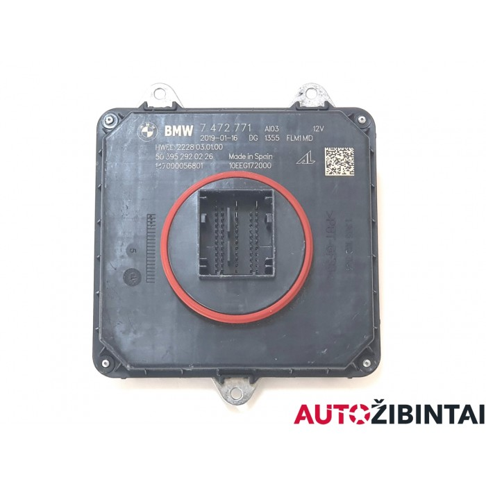 BMW X4 (G02) Žibintų valdymo blokas (7 472 771)