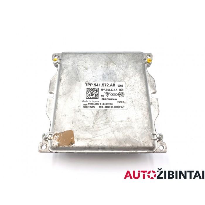 AUDI A4 Avant (8W5, B9) LED žibintų valdymo blokas (7PP941572AB)