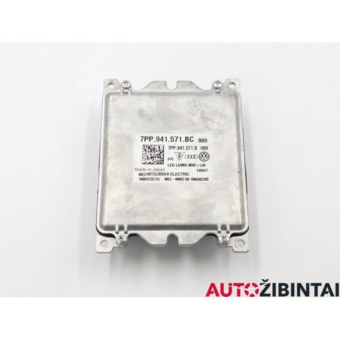 AUDI A4 (8W2, B9) LED žibintų valdymo blokas (7PP941571BC)