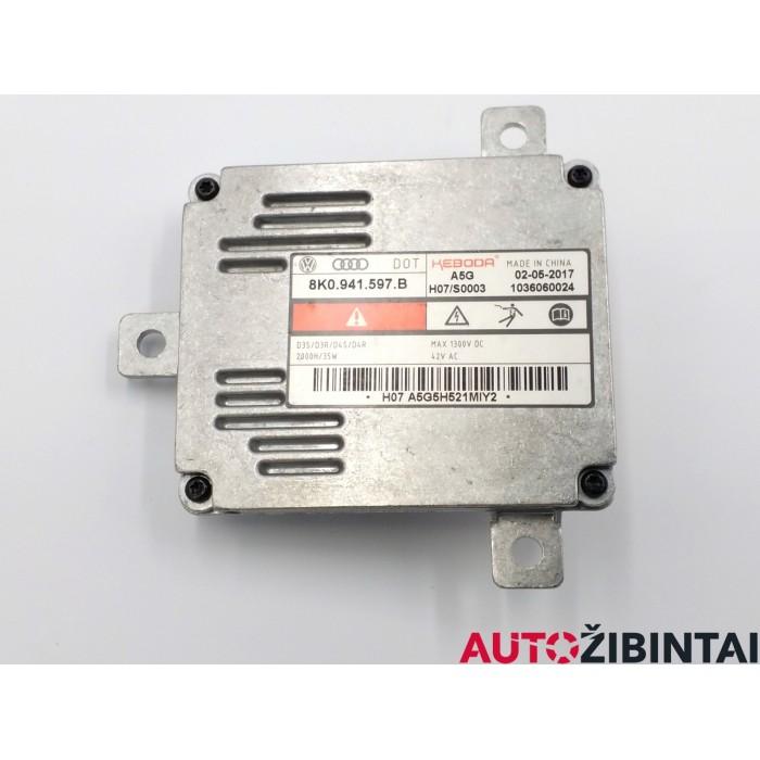 AUDI A7 Sportback (4GA, 4GF) Xenon žibintų valdymo blokas (8K0941597B)